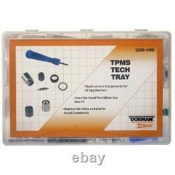 030-100 Dorman TPMS Valve Kit New for Chevy Mercedes 323 325 328 330 525 528 530