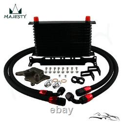 13 Row AN10 Oil Cooler Kit For BMW Mini Cooper S Supercharger R56 1.6L 2006-2012