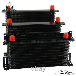 15 Row AN10 Oil Cooler Kit For BMW Mini Cooper S Supercharger R56 1.6L 2006-2012