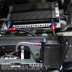 19 Row Oil Cooler Kit For BMW Mini Cooper S Supercharger Engine R56 Turbo 1.6L