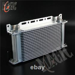 19 row R53 OIL COOLER KIT FOR BMW MINI COOPER S SUPERCHARGER withMounting Bracket