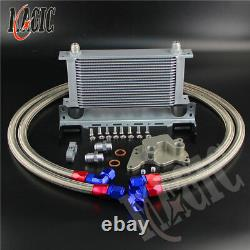 19 row R56 OIL COOLER KIT FOR BMW MINI COOPER S SUPERCHARGER withMounting Bracket