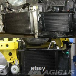 25 Row Oil Cooler Kit For BMW Mini Cooper S Supercharger Engine R56 Turbo 1.6L