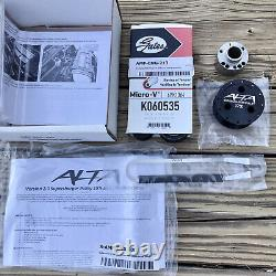 Alta 02-06 Mini Cooper S 17% Supercharger Pulley, Belt & Safety Stop Combo NEW