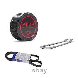 Alta Performance 02-08 Mini Cooper S 17% Supercharger Pulley & Belt Combo Kit