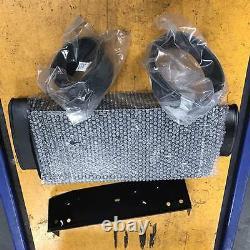 DEAL-Top mount intercooler FULL KIT BOLT ON fit Mini Cooper S R53 SUPERCHARGER