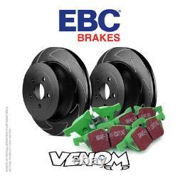 EBC Front Brake Kit for Mini Hatch 1st Gen R53 1.6 Supercharged Cooper S 01-03