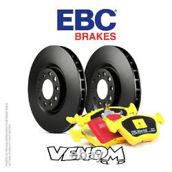 EBC Front Brake Kit for Mini Hatch 1st Gen R53 1.6 Supercharged Cooper S 03-06
