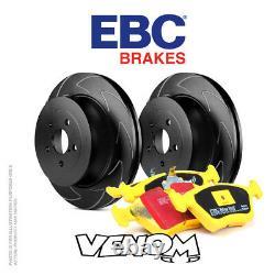 EBC Rear Brake Kit for Mini Hatch 1st Gen R53 1.6 Supercharged Cooper S 01-03