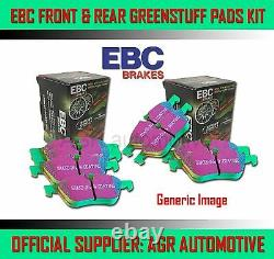 Ebc Greenstuff Front + Rear Pads Kit For Mini R53 1.6 Supercharged Works 2001-03