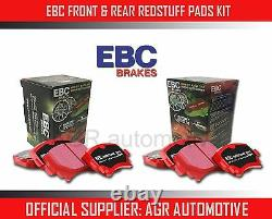 Ebc Redstuff Front + Rear Pads Kit For Mini (r53) 1.6 Supercharged Works 2001-03