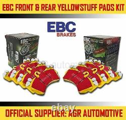 Ebc Yellowstuff Front Rear Pads Kit For Mini R53 1.6 Supercharged Works 2003-06