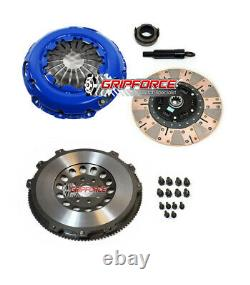 Fx Dual Friction Clutch Kit+flywheel For 02-08 Mini Cooper S Supercharged 6spd