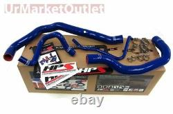 HPS Blue 3-Ply Silicone Radiator Hose Kit for Mini 02-08 Cooper S Supercharged