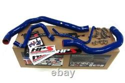HPS SILICONE RADIATOR HOSE KIT With CLAMPS MINI COOPER S SUPERCHARGED (BLUE)