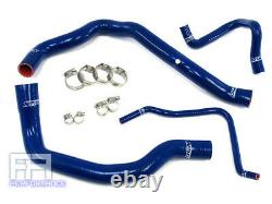 HPS Silicone Radiator Hose Kit for Mini Cooper S 1.6L Supercharged 02-08 Blue