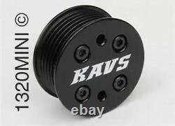 KAVS MINI Cooper S Supercharger Pulley Kit 11% to 17% FREE BELT & PLUGS