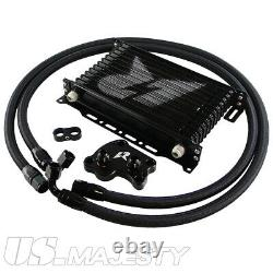LR AN10 13Row Oil Cooler Kit For BMW Mini Cooper S Supercharger R50 R52 R53 1.6L