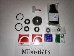 MINI Cooper S Supercharger PTO Gear Repair Kit for Water Pump Drive + Oil Bottle