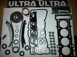 Mini 1.6 Cooper-s Supercharged Ultra Timing Chain Kit + Head Gasket Set & Bolts