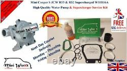 Mini Cooper S R53 Supercharger service kit + Water Pump