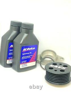 Mini Cooper S Supercharger Service Kit + Kavs Pulley and Spark Plugs