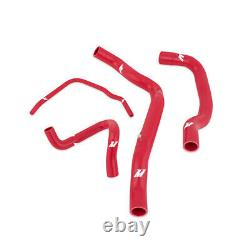 Mishimoto For Mini Cooper S R52/r53 Supercharged Silicone Radiator Hose Kit Red