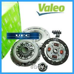 VALEO CLUTCH KIT+SOLID FLYWHEEL for 02-06 MINI COOPER S 1.6L SUPERCHARGED 6SPEED