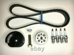 WMW 17% Supercharger Reduction Pulley Kit for R53 02-06 MINI Cooper S and R52