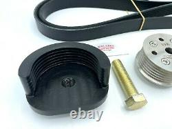 WMW 19% Supercharger Reduction Pulley Kit for R53 02-06 MINI Cooper S and R52